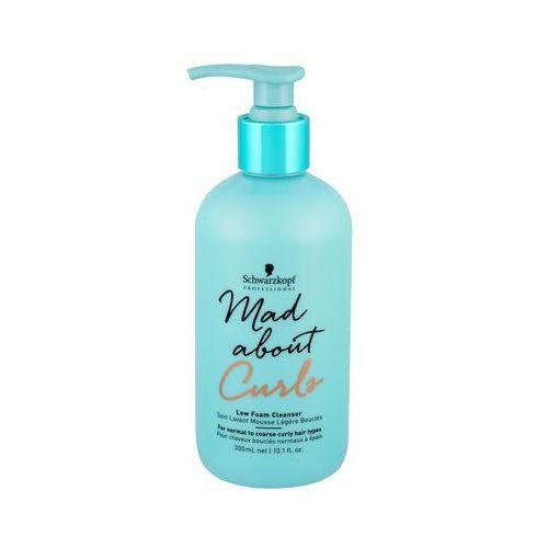 mad about curls low foam cleanser szampon do włosów 300 ml dla kobiet marki Schwarzkopf