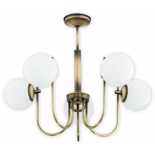 ape o2855 w5 pat lampa wisząca zwis 5x40w e14 patyna marki Lemir