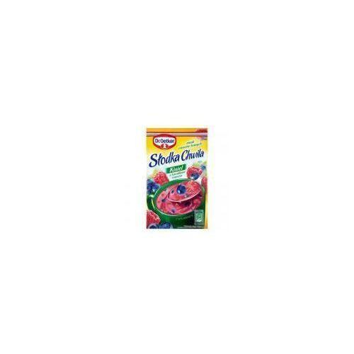 Dr. oetker Kisiel z kawałkami owoców smak owoców leśnych słodka chwila 31,5 g (5900437037240)