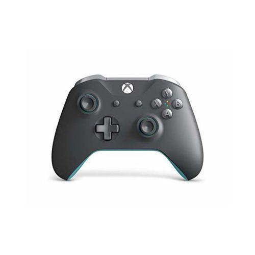 Kontroler bezprzewodowy MICROSOFT WL3-00106 Hume Szaro-Niebieski do Xbox One (0889842327380)