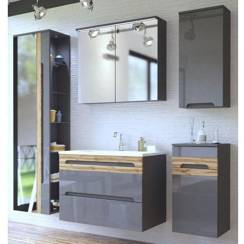 Zestaw mebli łazienkowych GALAXY GREY (801)SET 80 cm