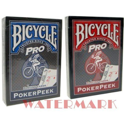 Uspcc - u.s. playing card compa Karty bicycle pro poker peek - uspc karty bicycle pro poker peek - uspc