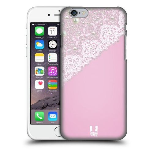 Head case Etui plastikowe na telefon - laces and pearls pink
