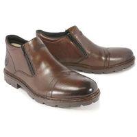 RIEKER 12194-25 brown, botki męskie, kolor brązowy
