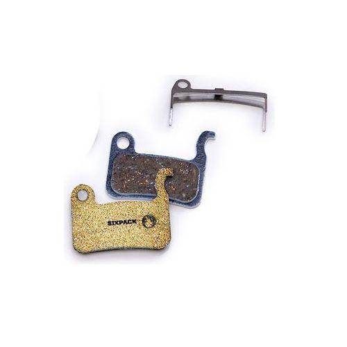 Sixpack shimano xtr klocek hamulcowy beżowy/czarny klocki do hamulców tarczowych (4260302170160)