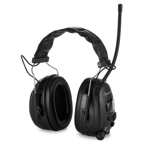 auna Jackhammer 2.0 słuchawki ochronne przeciwhałasowe radio UKF SNR 28 dB AUX-I