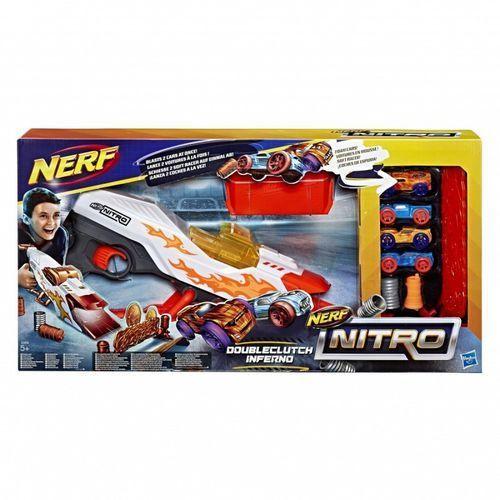 Hasbro Nerf Wyrzutnia Nitro Double Clutch Inferno, 5_647504