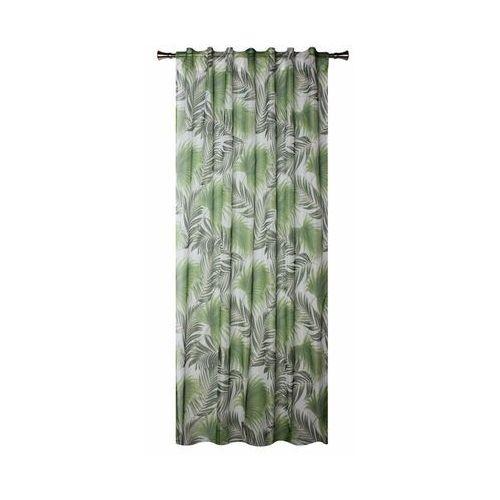 Firana na szelkach palmas 140 x 260 cm zielona marki Splendid