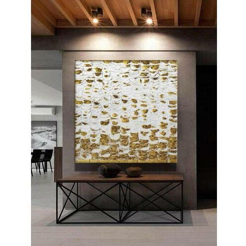 GLANCE - Wielkoformatowy obraz na płótnie abstrakcyjny art&texture™