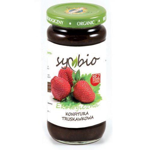 Symbio Konfitura truskawkowa bez cukru 230g z kategorii Warzywa i owoce