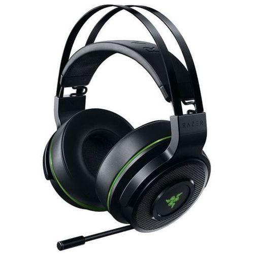 Razer słuchawki Thresher 7.1 dla Xbox One, czarne/zielone, (RZ04-02240100-R3M1) (8886419371311)