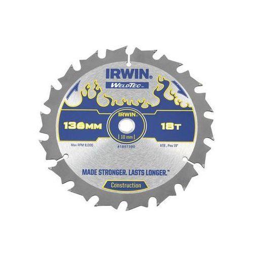 Tarcza do pilarki tarczowej 136mm/18t c/10 śr. 136 mm 18 z marki Irwin weldtec