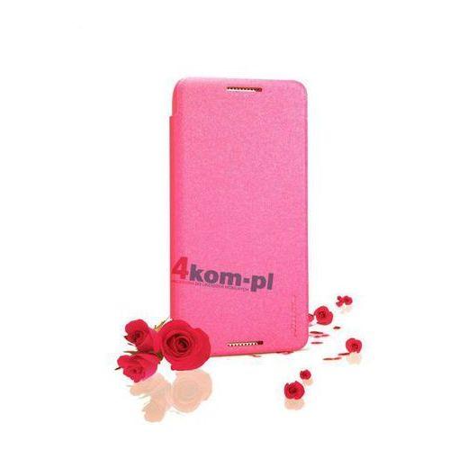 Etui Nillkin Sparkle HTC Desire 610 Różowe - Różowy