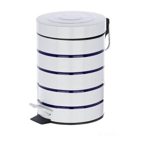 Wenko Kosz łazienkowy marine white, pojemnik na śmieci - 3 l, (4008838213513)