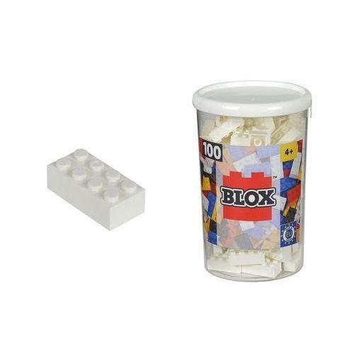 Blox Klocki 100 ELEMENTÓW Białe - Simba Toys