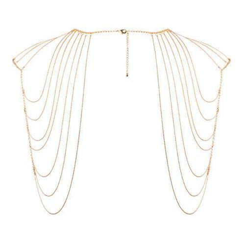 Niezwykła ozdoba naramienniki z łańcuszków - Bijoux Indiscrets Magnifique Shoulder Jewelry Złoty