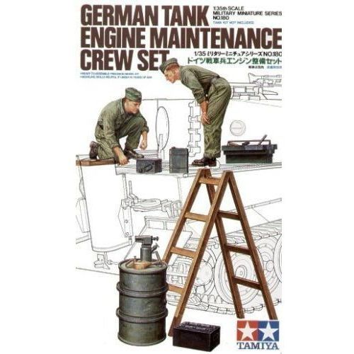 Tamiya german tank maintenance crew - tamiya