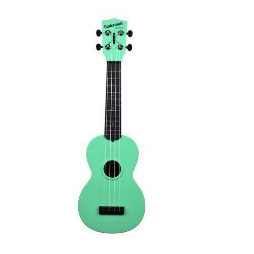 Kala KA-SWB-GN Waterman, ukulele sopranowe z pokrowcem, czarno-zielony