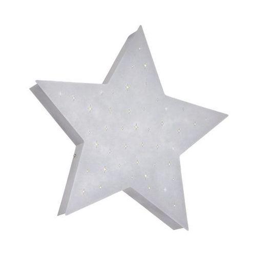 Plafon lampa sufitowa Aldex Gwiazda w gwiazdy 2x25W E14 srebrny 835PL/H21 (5904798637538)