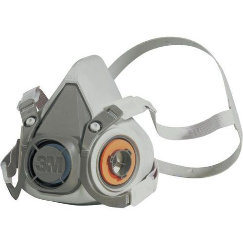 Maska ochronna 3M 6200M Klasa filtrów / stopień ochrony: W zależności od zastosowanego filtra 1 szt. (4001895949494)