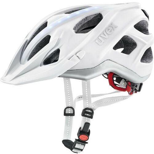 UVEX City Light Kask rowerowy, white matt 56-61cm 2019 Kaski miejskie i trekkingowe (4043197296135)
