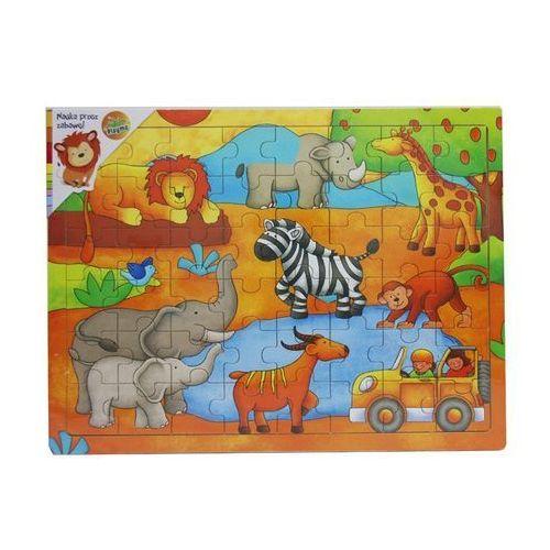 Puzzle drewniane Dżungla (5907791573346)