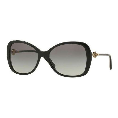 Okulary Słoneczne Versace VE4303A Asian Fit GB1/11, kolor żółty