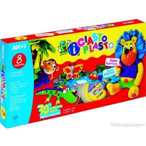 Amos Ciasto-plasto 8 kolorów (8802946500567)