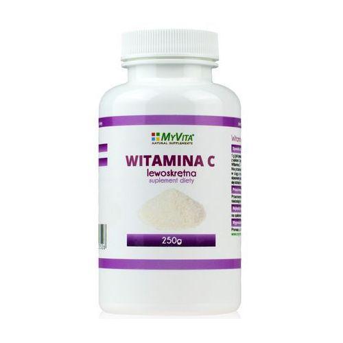 Witamina C lewoskrętna 250 g (Myvita), produkt z kategorii- Witaminy i minerały