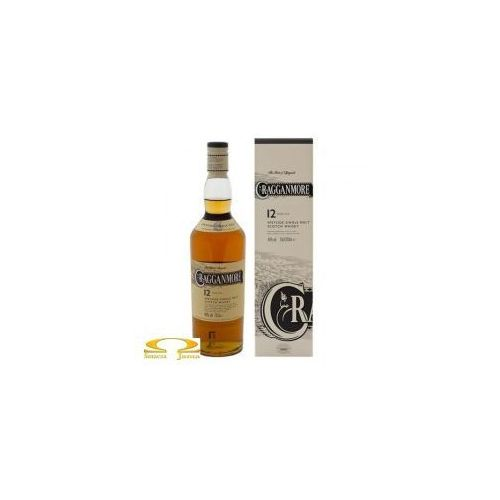 Whisky cragganmore 12 years old 0,7l marki Classic malts of scotland