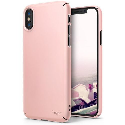 Ringke Etui slim case do iphone xs/x 5.8 peach pink