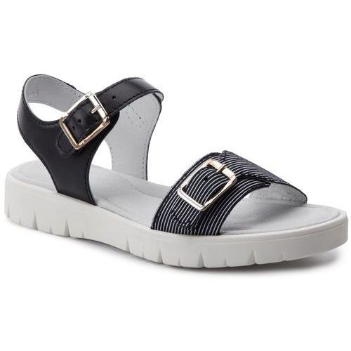 Sandały - 59164/094 niebiesko biały marki Bartek