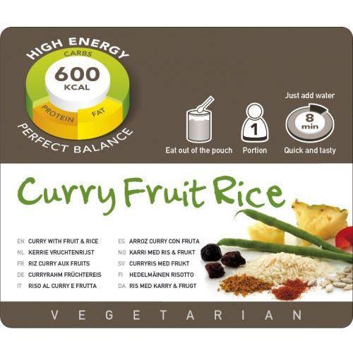 Adventure food Ryż z owocami w sosie curry (1 porcja)