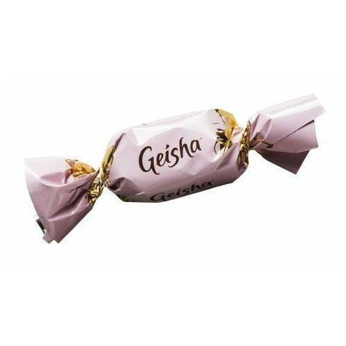 Fazer - Geisha - 1szt - mleczny cukierek z nadzieniem z orzechów laskowych - 7,2g - z Finlandii