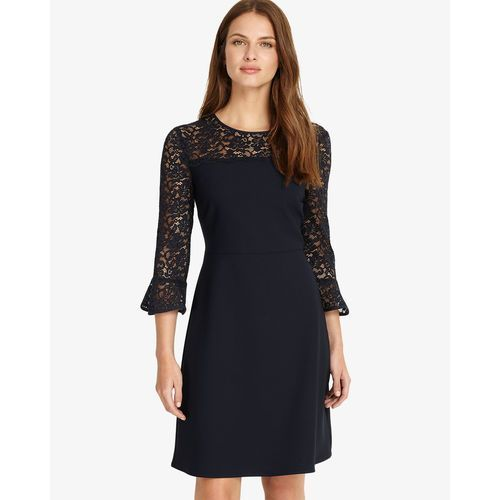 Phase Eight Esme Lace Dress, kolor niebieski
