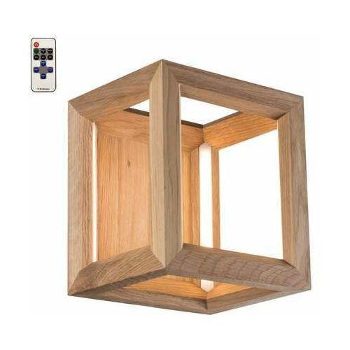 Spot light kago led 91502174 kinkiet lampa ścienna 1x9w led drewno