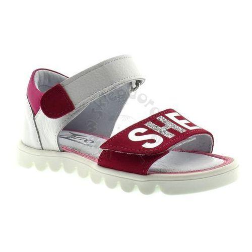 Sandały dziecięce Zarro 120/03 - Biały ||Fuksja