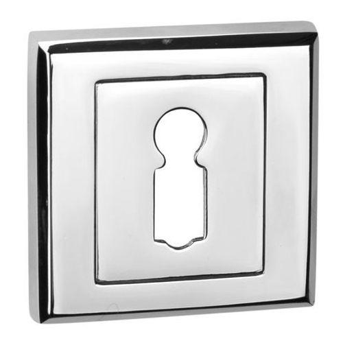 Schaffner Szyld drzwiowy clara na klucz chrom (5907467750446)