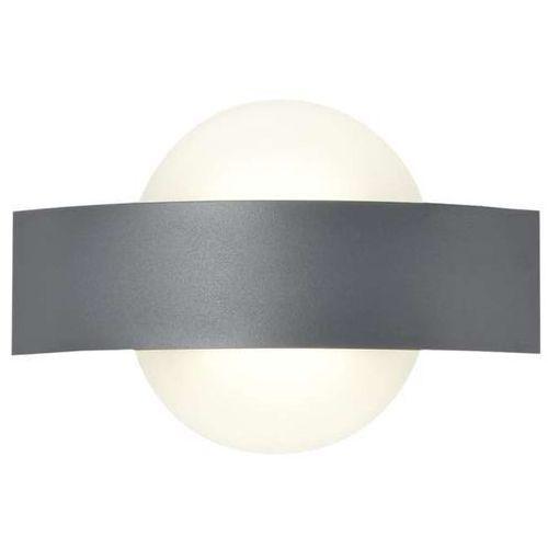 LAMPA ścienna FAETO LP-1444/1W RG Light Prestige geometryczna OPRAWA kinkiet LED 6W prostokąt okrąg szary biały, LP-1444/1W RG