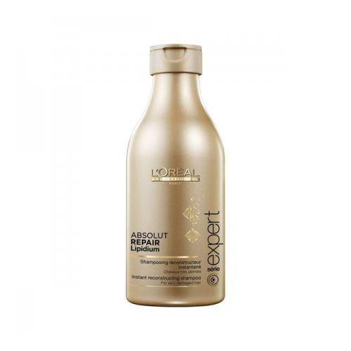 absolut repair lipidium - szampon regenerujący włosy zniszczone 250ml marki Loreal