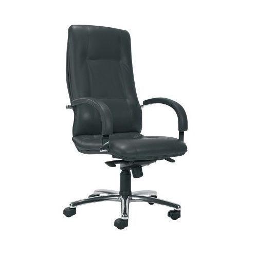 Fotel biurowy star steel04 chrome z mechanizmem multiblock marki Nowy styl
