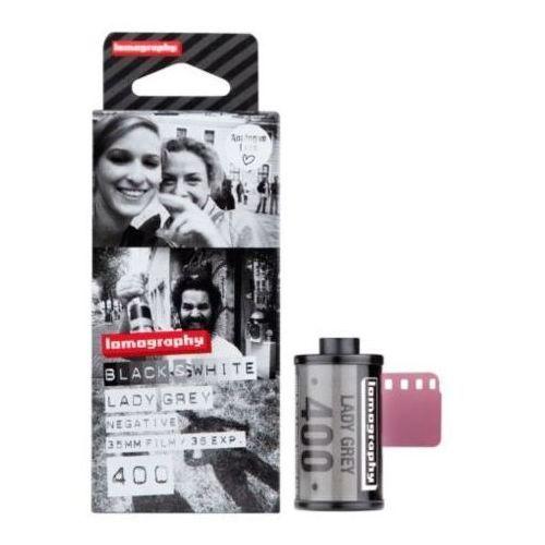 film czarno-biały lady grey 400/36 marki Lomography