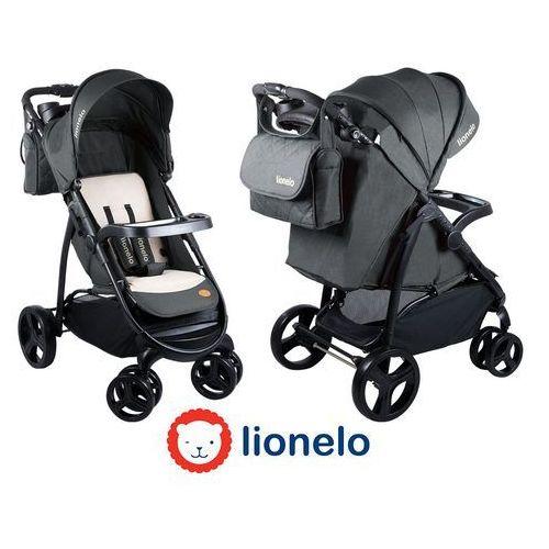 - wózek spacerowy elise - grafitowy - 51723 marki Lionelo