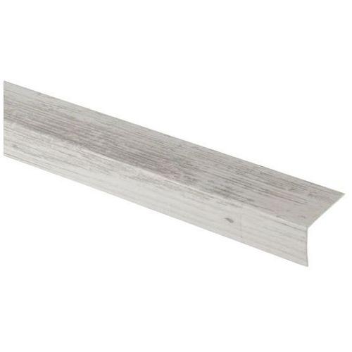 Goodhome Profil schodowy 35 x 25 x 1800 mm jasne drewno