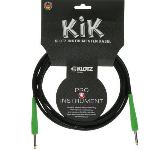 Klotz kabel gitarowy 6m złącze zielone