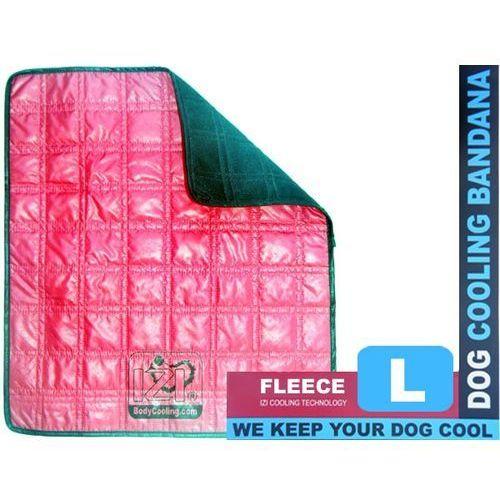 Legowisko z wełną chłodzącą dla dużego psa marki Izibodycooling