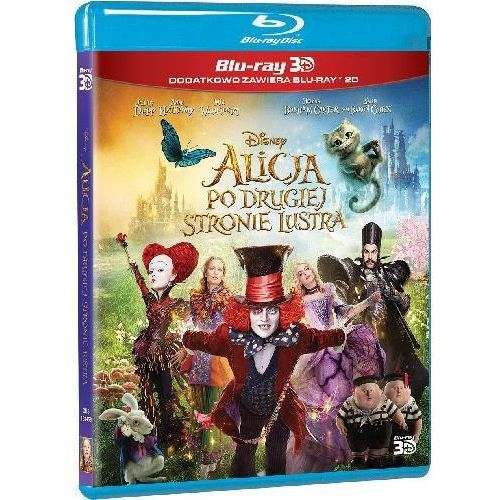 Alicja po drugiej stronie lustra 3D (Blu-Ray) - James Bobin