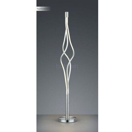 Trio loop 479890307 lampa stojąca podłogowa 3x9w led niklowa/biała (4017807372953)
