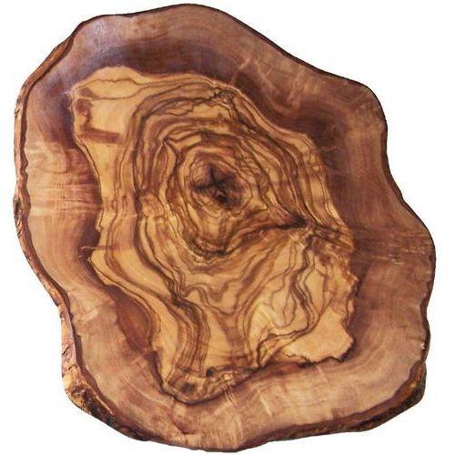 Deska do serów drewno oliwne   średnica 110 - 130mm marki Xxlselect
