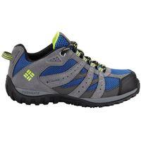 COLUMBIA buty outdoorowe dziecięce YOUTH REDMOND WATERPROOF-Azul, Bright Gr 37